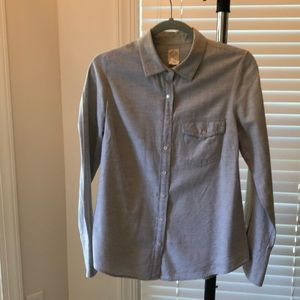 J. Crew perfect shirt!  Size 6. Super soft!